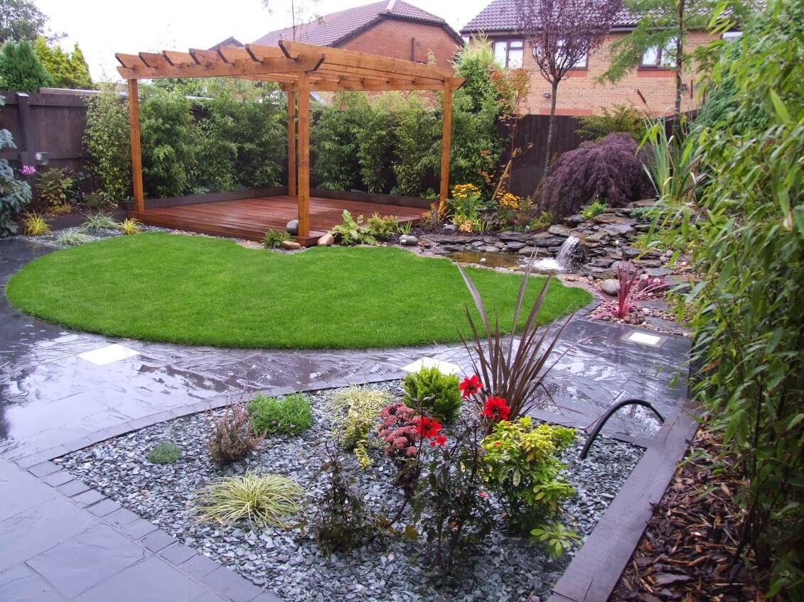 Garden makeover netherton merseyside abel landscaping for Garden makeover