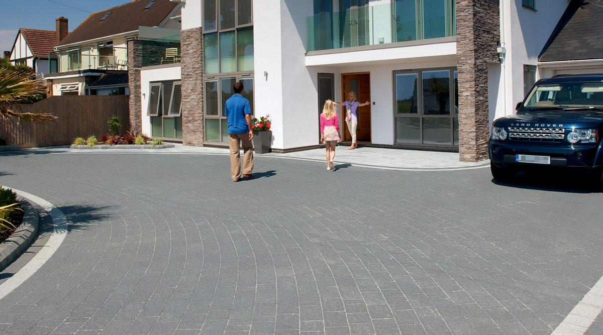 marshalls block paving abel landscaping. Black Bedroom Furniture Sets. Home Design Ideas