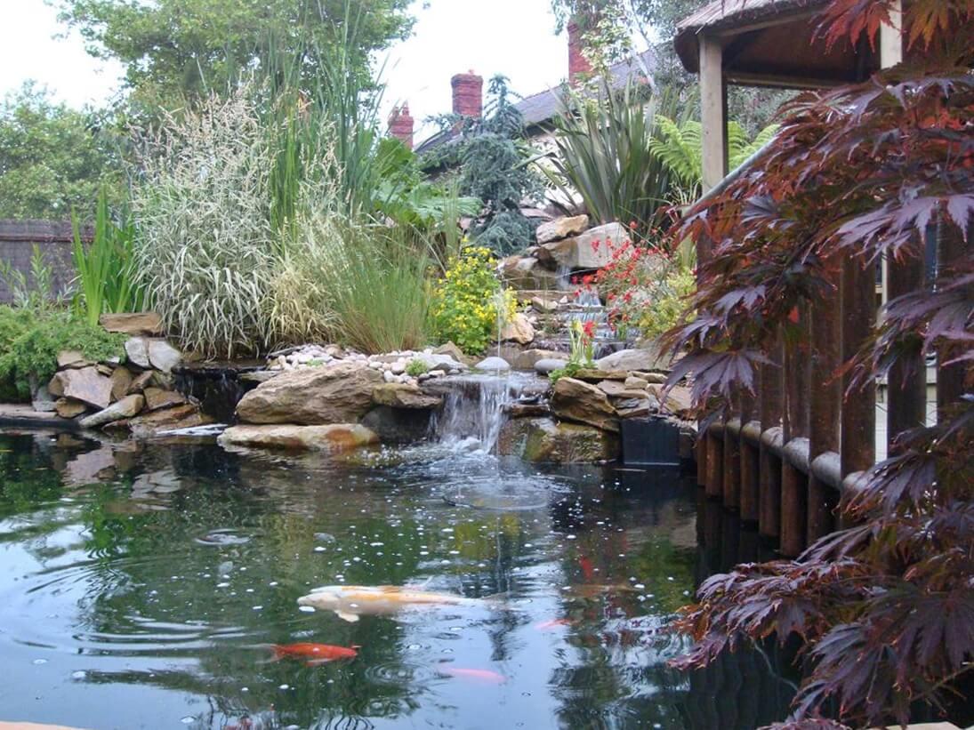 Tunbridge wells kent paving patio driveways garden for Garden pond kent