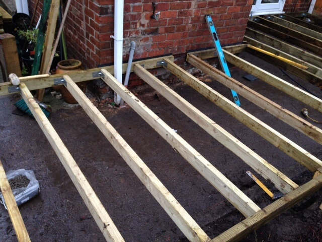 Raised Decking Amp Natural Paving Patio Runcorn Cheshire Abel Landscaping