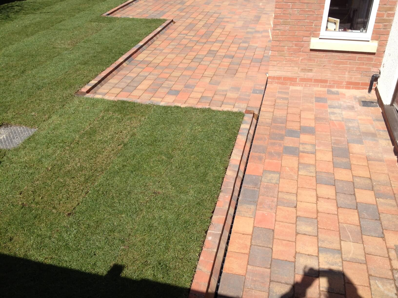 Block Paving Path And Patio Widnes Cheshire Abel Landscaping