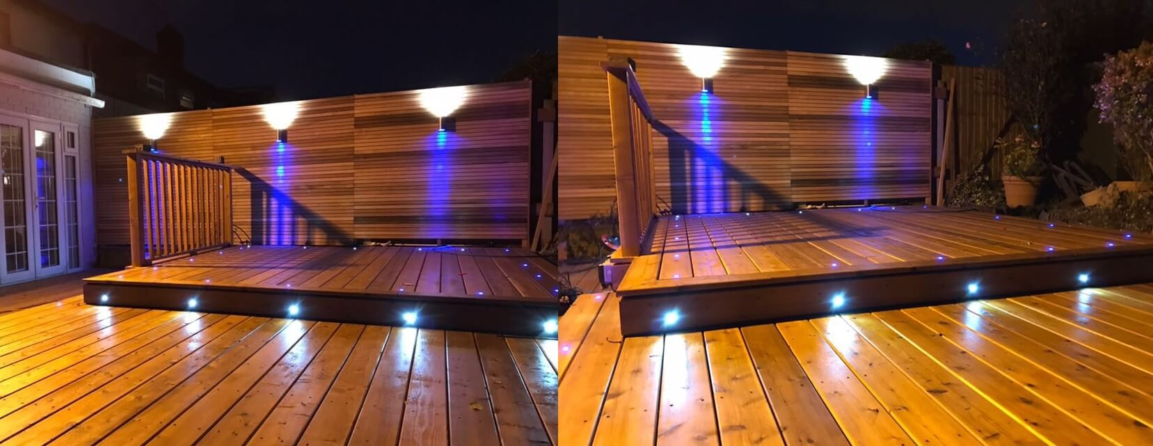u201dWhen you need a soft glow for your deck or walkways install the deck and step lighting. With their low-profile design and high-end finish ... & Garden and Outdoor Lighting | Abel Landscaping