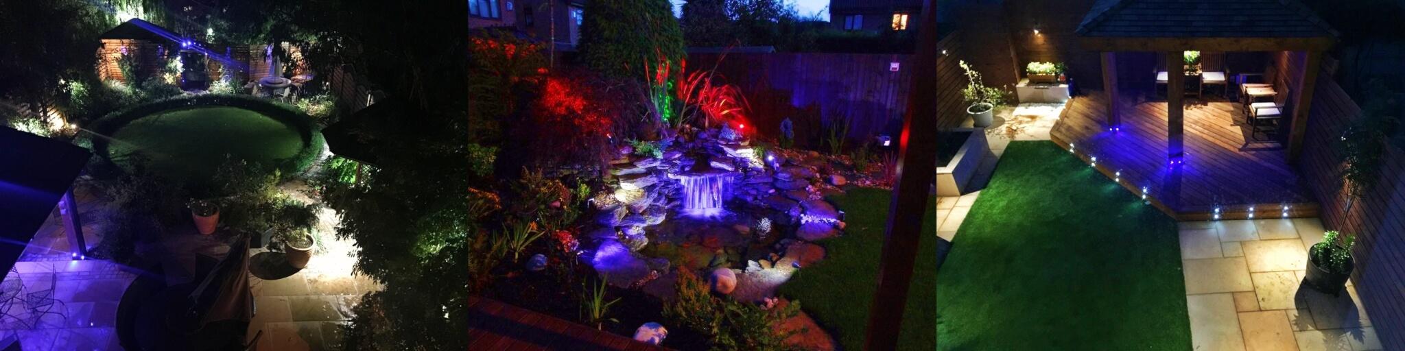 garden and outdoor lighting abel landscaping