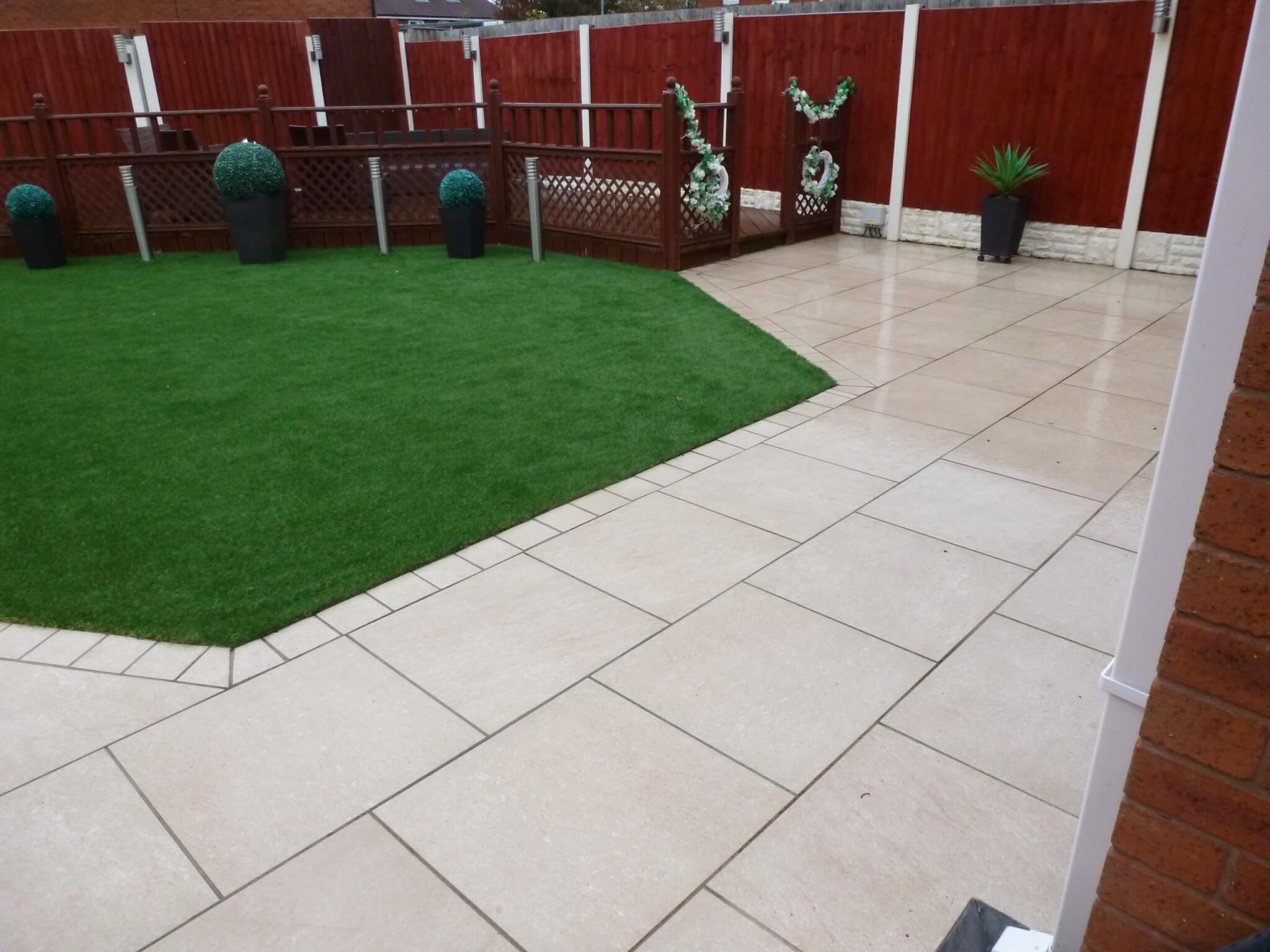 low maintenance garden design bootle merseyside